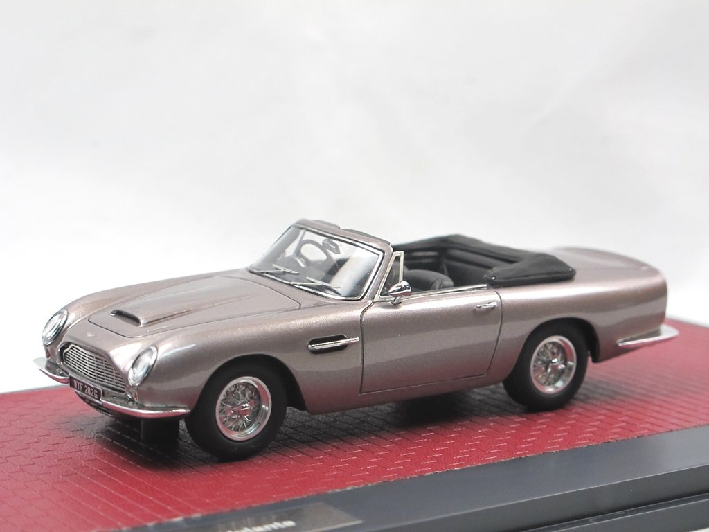 Matrix 1966 Aston Martin Db6 Volante Grau Metallic 1 43 Limited