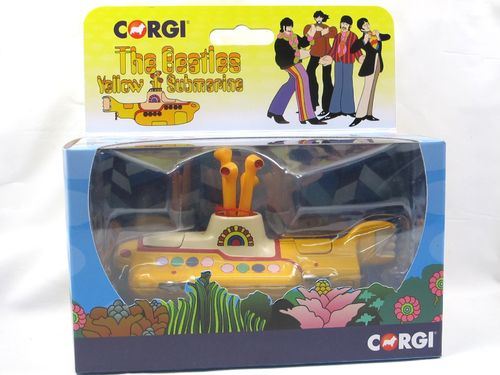 Corgi THE BEATLES Yellow Submarine mit Figuren ca. 1/36