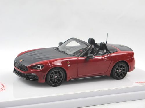 TSM Model 2017 Abarth 124 Spider Costa Brava 1972 red 1/43