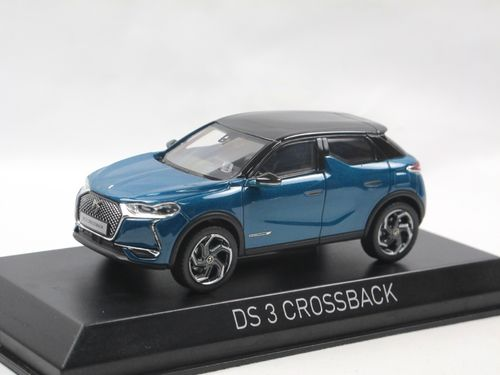 Norev 2019 Citroen DS3 DS 3 Crossback blue/black  1/43