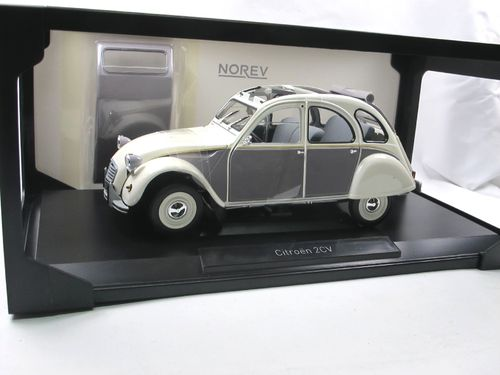 Norev 1985 Citroen 2CV Dolly weiß/grau 1/18