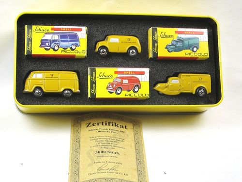 Schuco Piccolo Edition 2002 Deutsche Post VW Lloyd Tempo