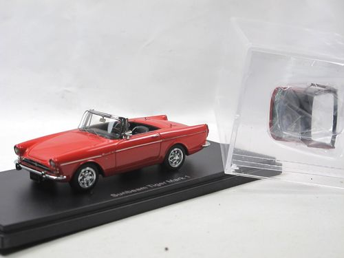 Automodello 1964 Sunbeam Tiger Mark I red with Hardtop 1/43