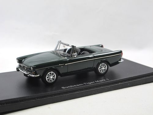 Automodello 1964 Sunbeam Tiger Mark I green with Hardtop 1/43