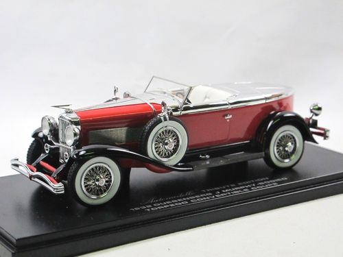 Automodello 1932 Duesenberg J Torpedo by Murphy red 1/43