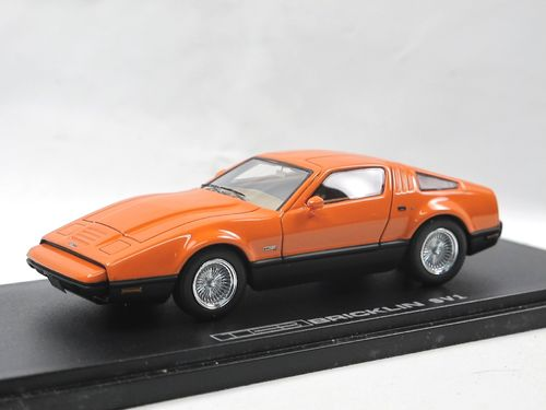 Automodello 1974-1976 Bricklin SV-1 Sportwagen orange 1/43