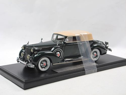 Automodello 1938 Packard Twelve Convertible green 1/43