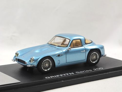 Automodello 1964 Griffith 200 blue metallic TVR 1/43