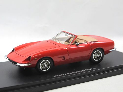 Automodello 1967 Intermeccanica Italia Spyder red 1/43