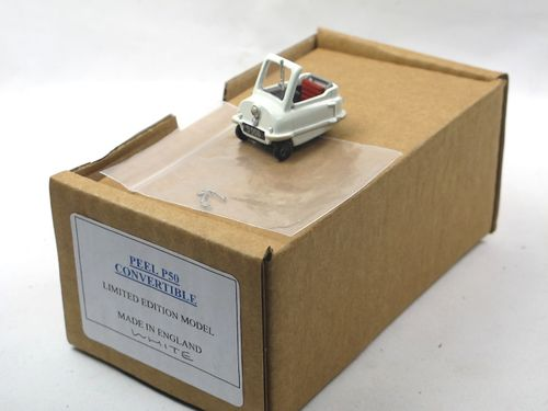 SAMS Model Cars 1964 Peel P50 Convertible white 1/43