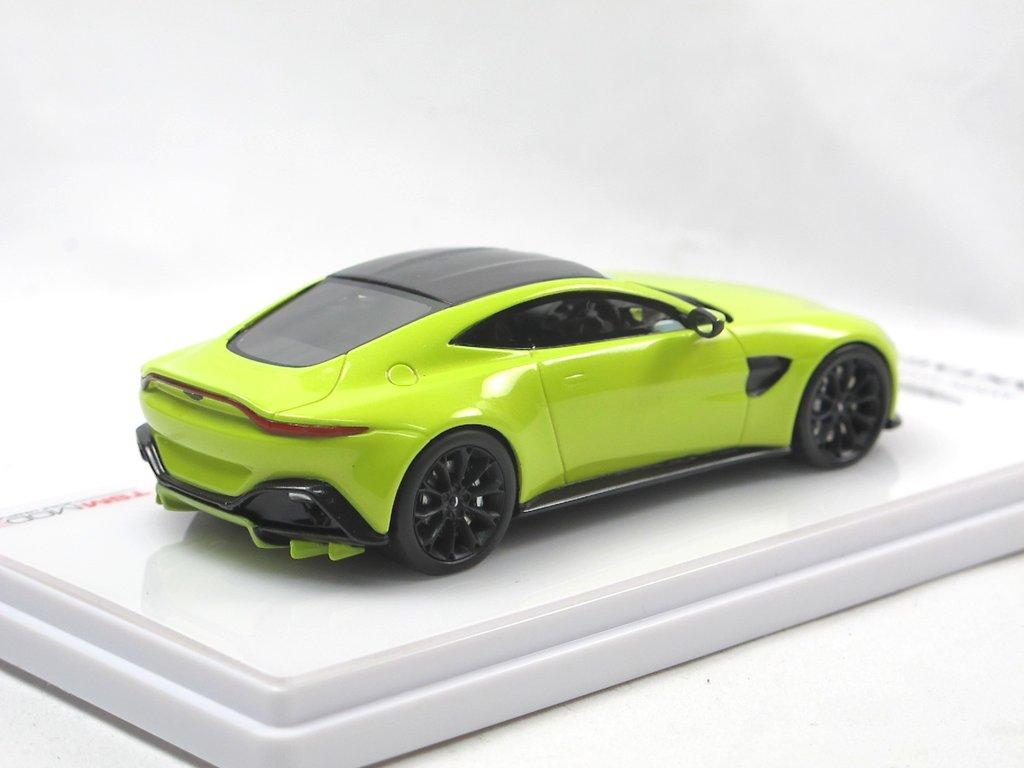Tsm Model 2018 Aston Martin Vantage Lime Essence Modellauto 1 43