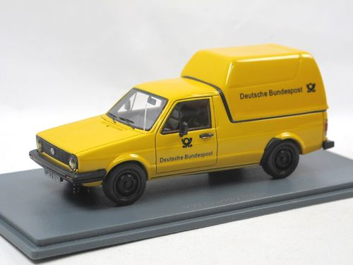 Neo 1983 VW Caddy Typ 14D Deutsche Bundespost 1/43