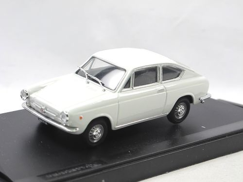Progetto K - Fiat 850 Coupe (1965) weiß 1/43