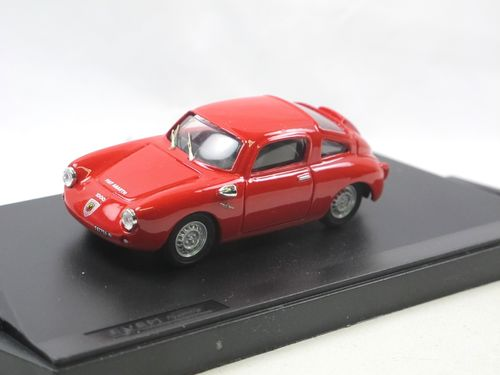 Exem Models 1961 Fiat Abarth 1000 Clienti rosso 1/43