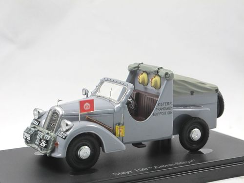 AutoCult 1934 Steyr 100 Asien-Steyr Transasien Expedition 1/43