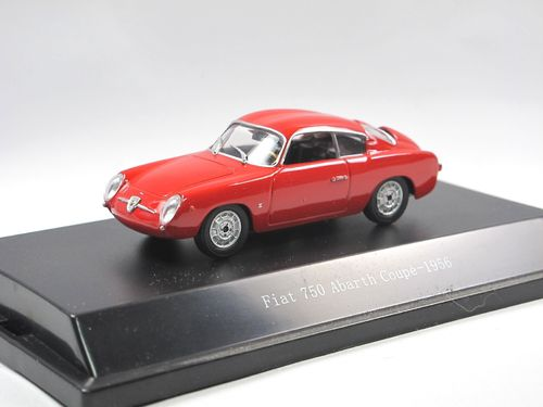 Starline Models 1956 Fiat 750 Abarth Coupe rot 1/43