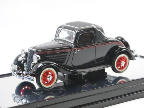 Classic Carlectables 1933 Ford V8 Coupe black 1/43