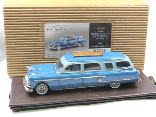 Brooklin 1954 Henney-Packard Super Station Wagon 1/43
