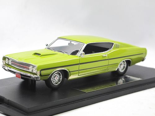 Goldvarg Collection 1969 Ford Torino Yellow 1/43