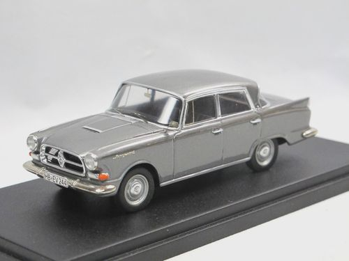 EMC Models 1960 Borgward P 100 grau metallic 1/43