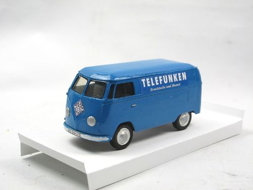 KIT TOYS 1953 VW T1 Kastenwagen blau Card Model 1/43