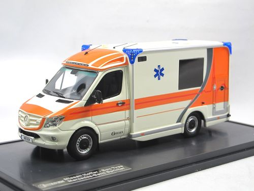 Matrix 2018 Mercedes-Benz Sprinter Miesen Ambulanz DE 1/43