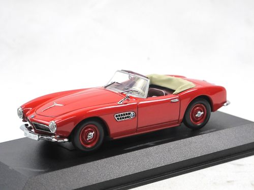 Minichamps 1956 BMW 507 Cabriolet rot 1/43