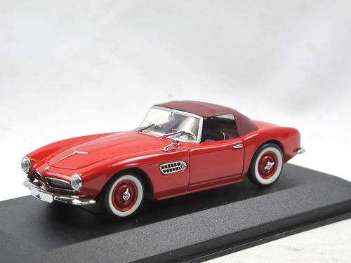 Minichamps 1956 BMW 507 Cabriolet Softtop rot 1/43