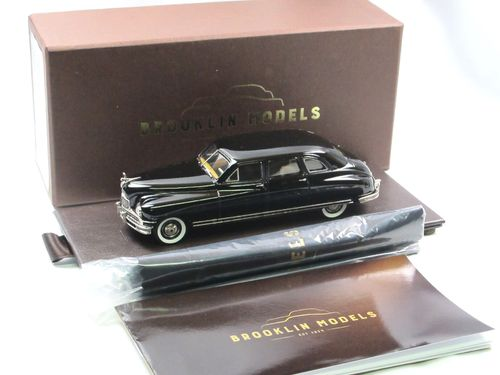 Brooklin 1948 Packard Clipper Limousine black 1/43