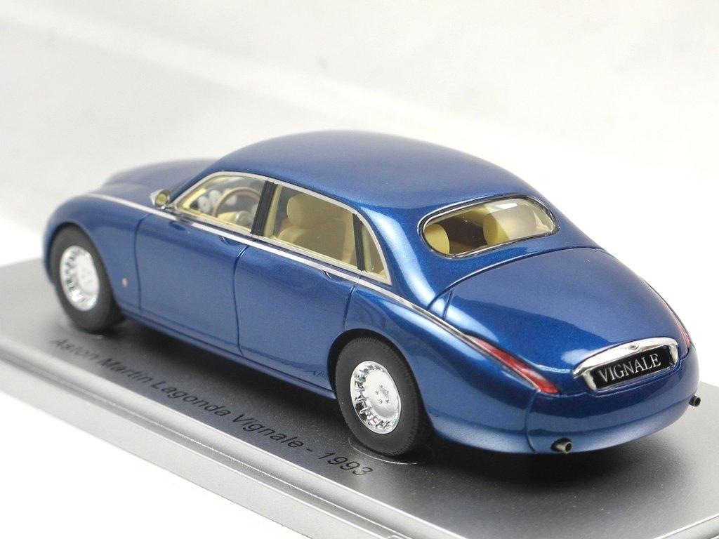 Kess 1993 Aston Martin Lagonda Vignale Blue Metallic 1 43 Limited