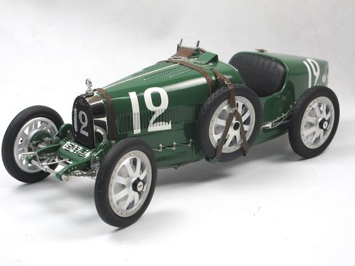 CMC Bugatti Typ 35 GP Nation Colour Project GB green 1/18