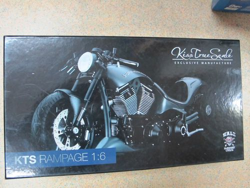 KTS Walz Rampage Custom Bike Reventon Grey 1/6