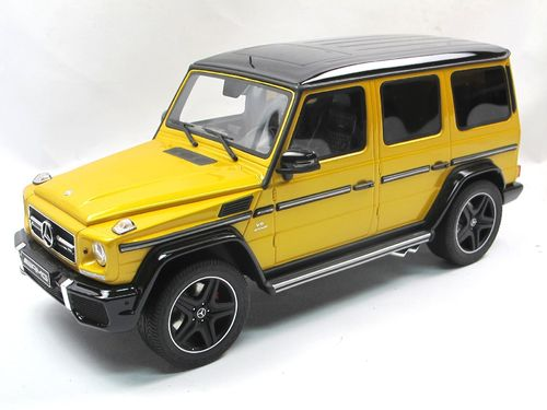 GT Spirit 2015 Mercedes-Benz G63 AMG Solarbeam Yellow 1/18