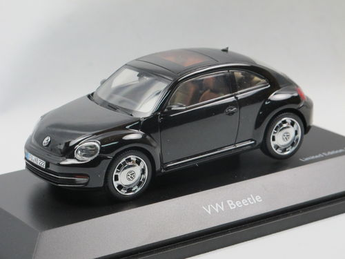 Schuco 2012 VW New Beetle Deep Black 1/43