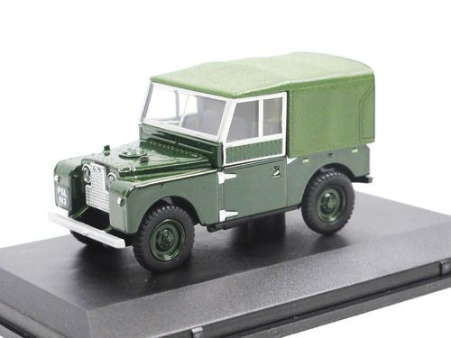 Oxford Diecast Land Rover Series I 88 Canvas Plimsoll 1/43