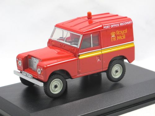 Oxford Diecast Land Rover Series IIA Royal Mail Recovery 1/43