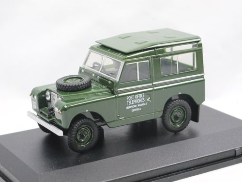 Oxford Diecast Land Rover Series II SWB Post Office 1/43