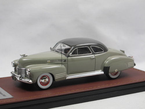 GLM 1941 Cadillac Series 62 Coupe 2-Tone grey 1/43