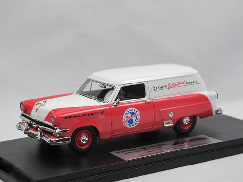 Goldvarg 1953 Ford Courier BRANIFF Int. Airways 1/43
