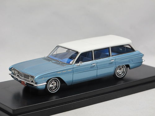 Goldvarg 1962 Buick Special Station Wagon blue metallic 1/43