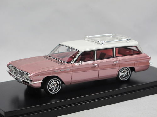 Goldvarg 1962 Buick Special Station Wagon Rose metallic 1/43