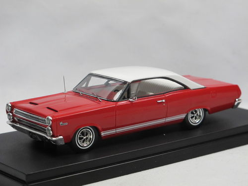 Goldvarg 1966 Mercury Comet Cyclone Red/White 1/43