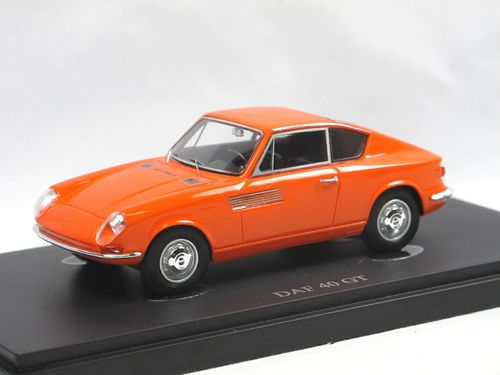 Autocult 1965 DAF 40 GT Prototype orange 1/43