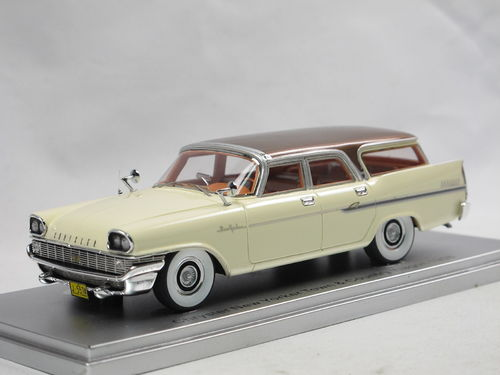 KESS 1958 Chrysler New Yorker Town + Country Wagon white 1/43