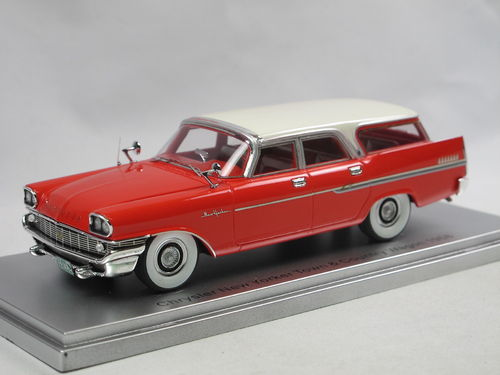 KESS 1958 Chrysler New Yorker Town + Country Wagon red 1/43