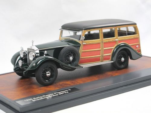 Matrix 1930 Rolls-Royce Phantom II Shooting Brake green 1/43