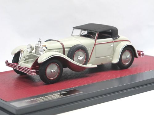 Matrix Mercedes 680S Torpedo Roadster Saoutchik closed 1/43