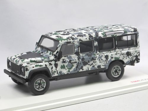 TSM Model armored Land Rover Defender CNN Pizza Truck 1/43