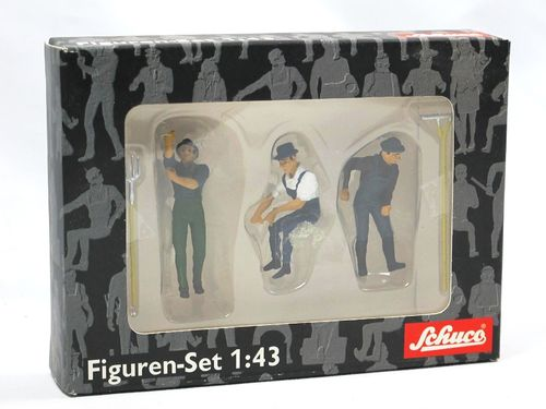 Schuco Figuren Set Heuernte - 3 Figuren 1/43