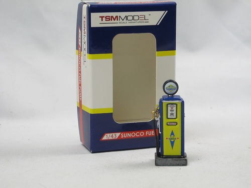 TSM Model Retro Fuel Pump Zapfsäule Sunoco Oil 1/43
